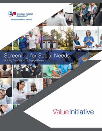 screening for social needs guide cover