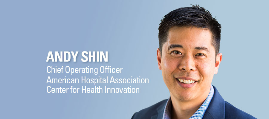 Andy Shin, CEO, AHA Center for Innovation