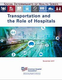 Transportation and the role of hospitals guide cover